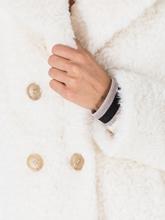 Image sur Veste Teddy à double rangée de boutons