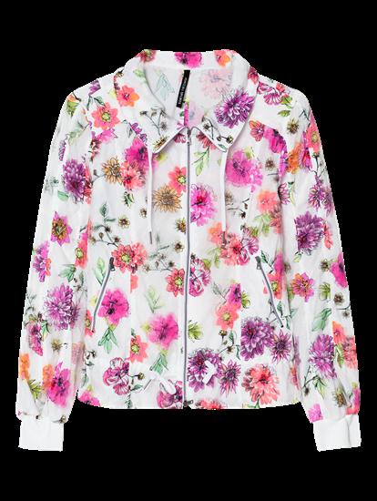 Image sur Veste avec imprimé floral et cordon de serrage