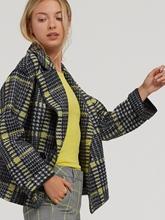Image sur Blazer double boutonnage à carreaux