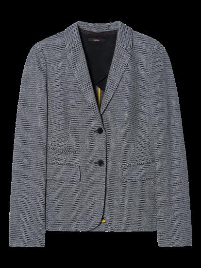 Image sur Blazer jersey motif maille