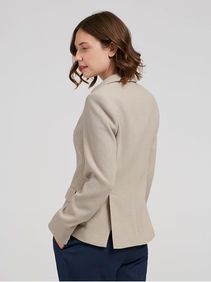 Image sur Blazer jersey texturé