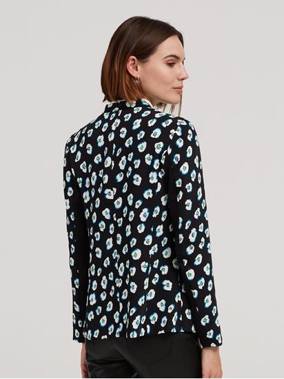 Image sur Blazer avec imprimé floral