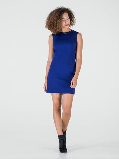 Bild von Jersey Kleid mit Nieten