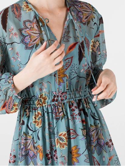 Image sur Robe à imprimé fleuri