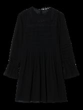Bild von Kleid mit Spitze und Plissee