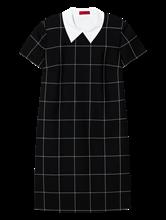Image sur Robe avc col amovible et carreau grille