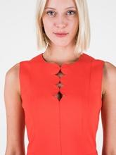Bild von Jersey Kleid mit Schlüsselloch-Ausschnitt