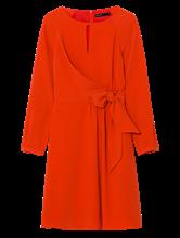 Image sur Robe portefeuille texturée