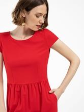 Bild von Kleid mit Raffung