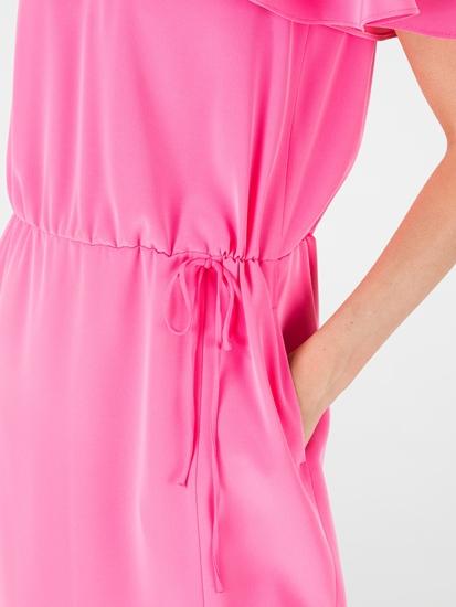 Bild von Kleid mit Tunnelzug und Volant