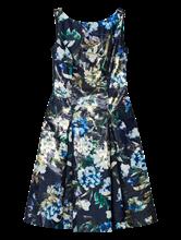 Bild von Kleid aus Brokat mit Blumen-Print