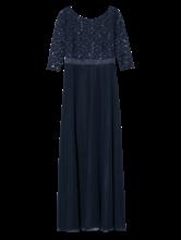 Image sur Robe de soirée avec paillettes et dentelle