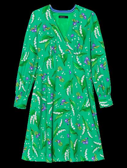Image sur Robe avec imprimé fleurs