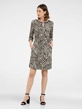 Bild von Kleid mit Zebra-Print