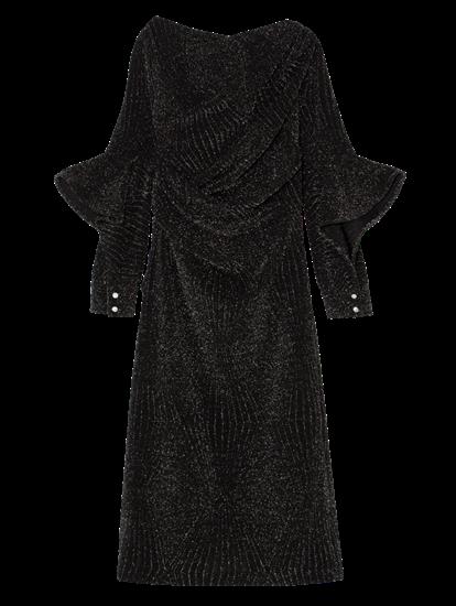 Image sur Robe de soirée avec lurex et volants