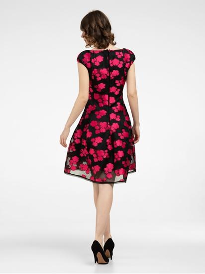 Bild von Cocktailkleid mit Blumen-Muster