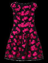 Image sur Robe de soirée avec imprimé floral