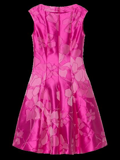 Bild von Cocktailkleid mit Jacquard-Muster