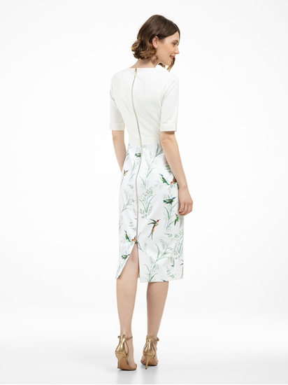 Bild von Kleid mit Print