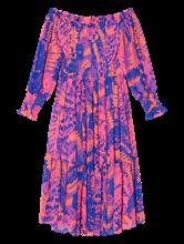 Image sur Robe épaules dénudées et imprimé