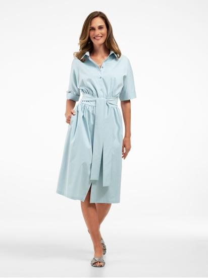 Bild von Blusenkleid mit Schleife