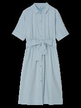 Image sur Robe chemisier à noeud