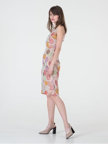 Bild von Kleid aus Seide mit Print