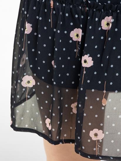 Image sur Robe avec imprimé floral