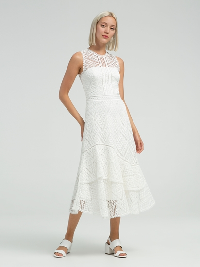 Bild von Kleid aus Spitze mit Volant
