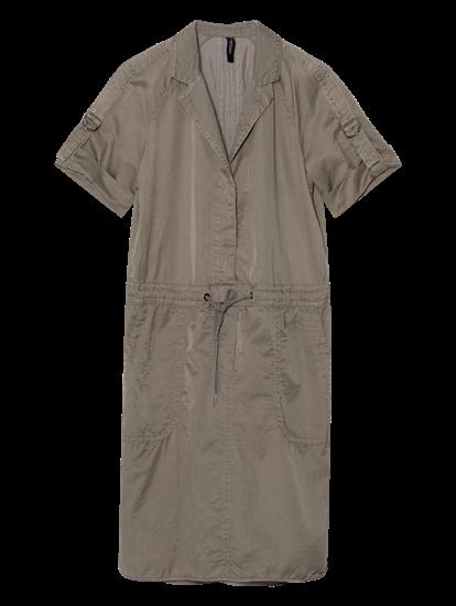 Image sur Robe chemisier avec cordon de serrage