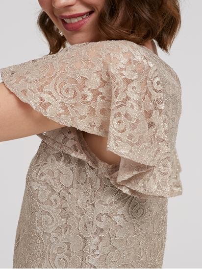 Image sur Robe en dentelle avec lurex