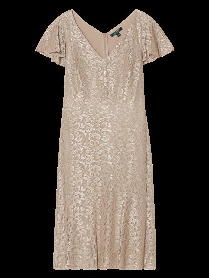 Bild von Kleid aus Spitze mit Lurex