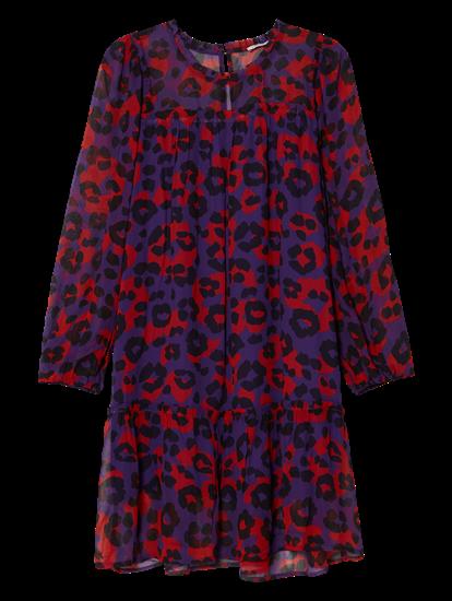 Bild von Kleid mit Leo-Print EVA