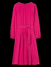 Bild von Kleid mit Biesen und Bindegürtel