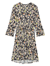 Bild von Kleid Print und Volant