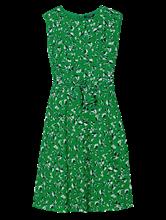 Image sur Robe à noeud et imprimé floral