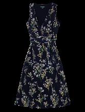 Bild von Kleid mit Print in Wickel-Optik