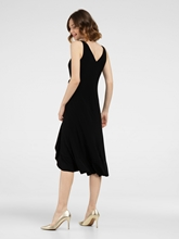 Bild von Kleid in Wickel-Optik mit Volant