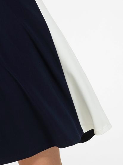 Image sur Robe jersey rayée sur le côté