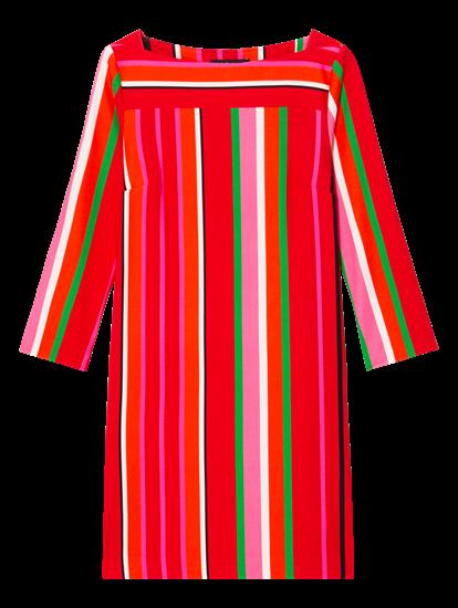 Image sur Robe en jersey à rayures