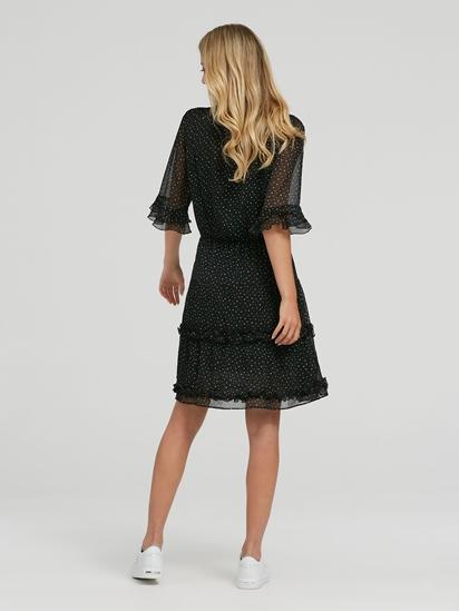 Bild von Kleid mit Punkten und Volant