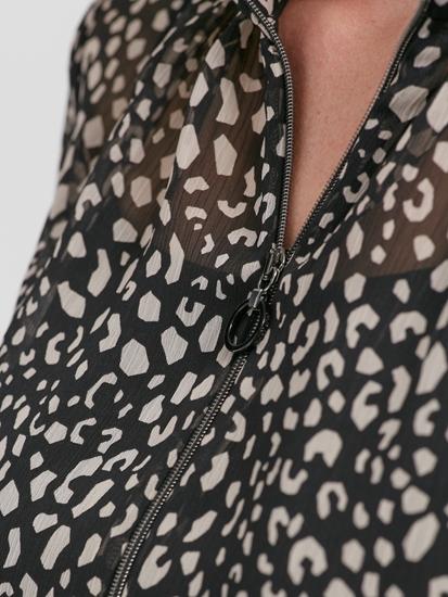 Image sur Robe imprimée et cordon de serrage