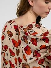Bild von Kleid mit drapierbarem Schal