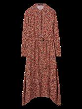 Image sur Robe imprimée et ceinture à nouer