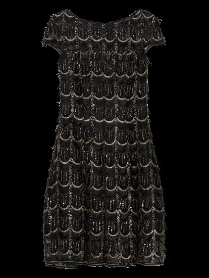 Bild von Cocktailkleid aus Tüll mit Pailletten