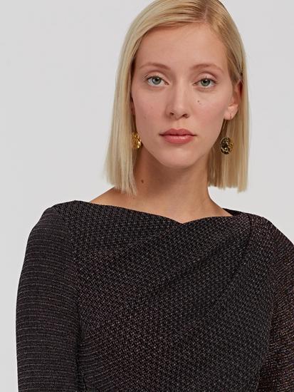 Bild von Abendkleid mit Lurex