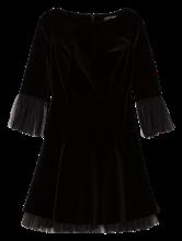 Image sur Robe de soirée empiècement tulle