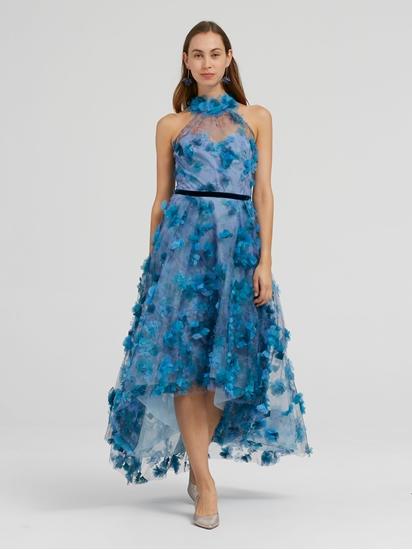 Image sur Robe de soirée avec applications florales