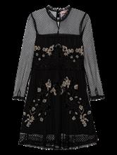 Bild von Kleid aus Spitze mit Applikationen
