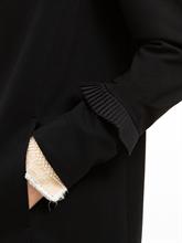 Bild von Jersey Mantel mit Plissee Volants